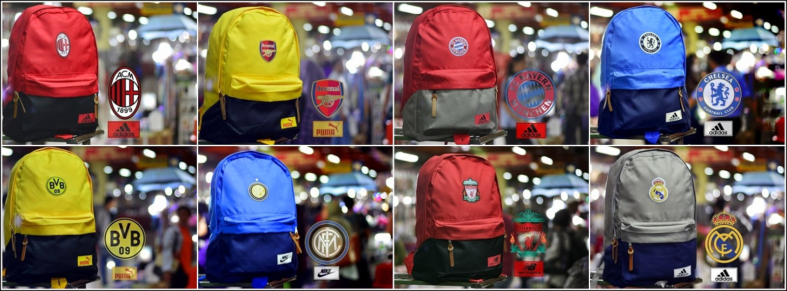 New Backpack atau Tas Bola Type D