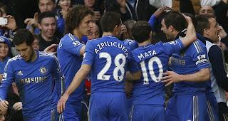 Chelsea 2 West Ham 0