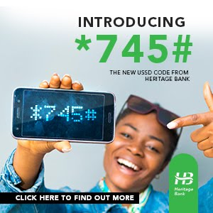 Heritage Bank USSD Code
