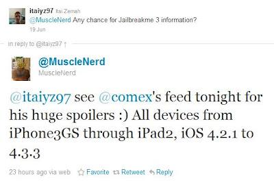 JailbreakMe 3.0 nicht nur auf iPad 2