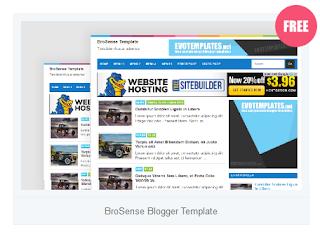 Template SEO Friendly dan Responsive untuk Google Adsense