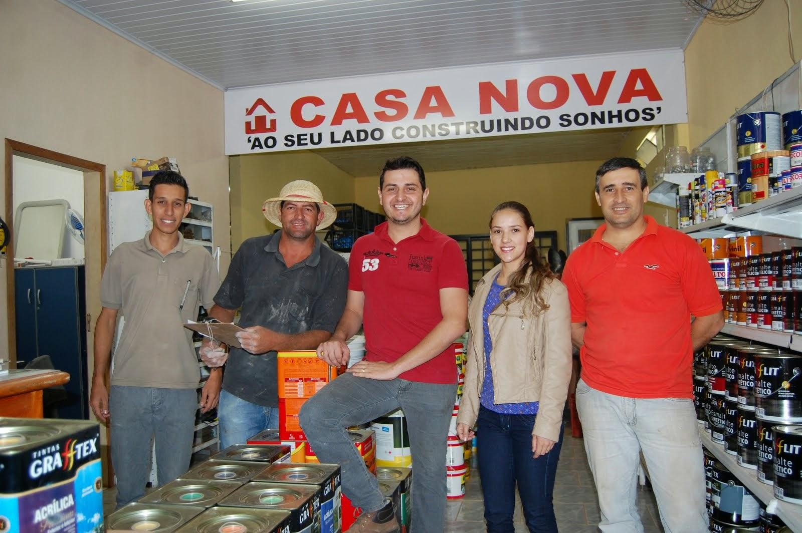CASA NOVA MATERIAIS DE CONSTRUÇÃO..