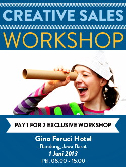 Workshop Creative Sales
