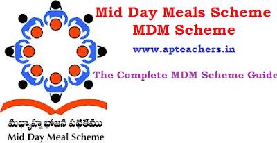 Mid Day Meals Scheme MDM Scheme
