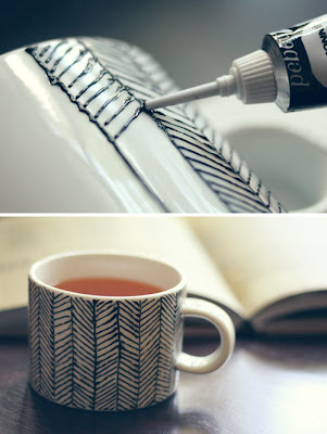 DIY Mug Art Tutorials And Ideas