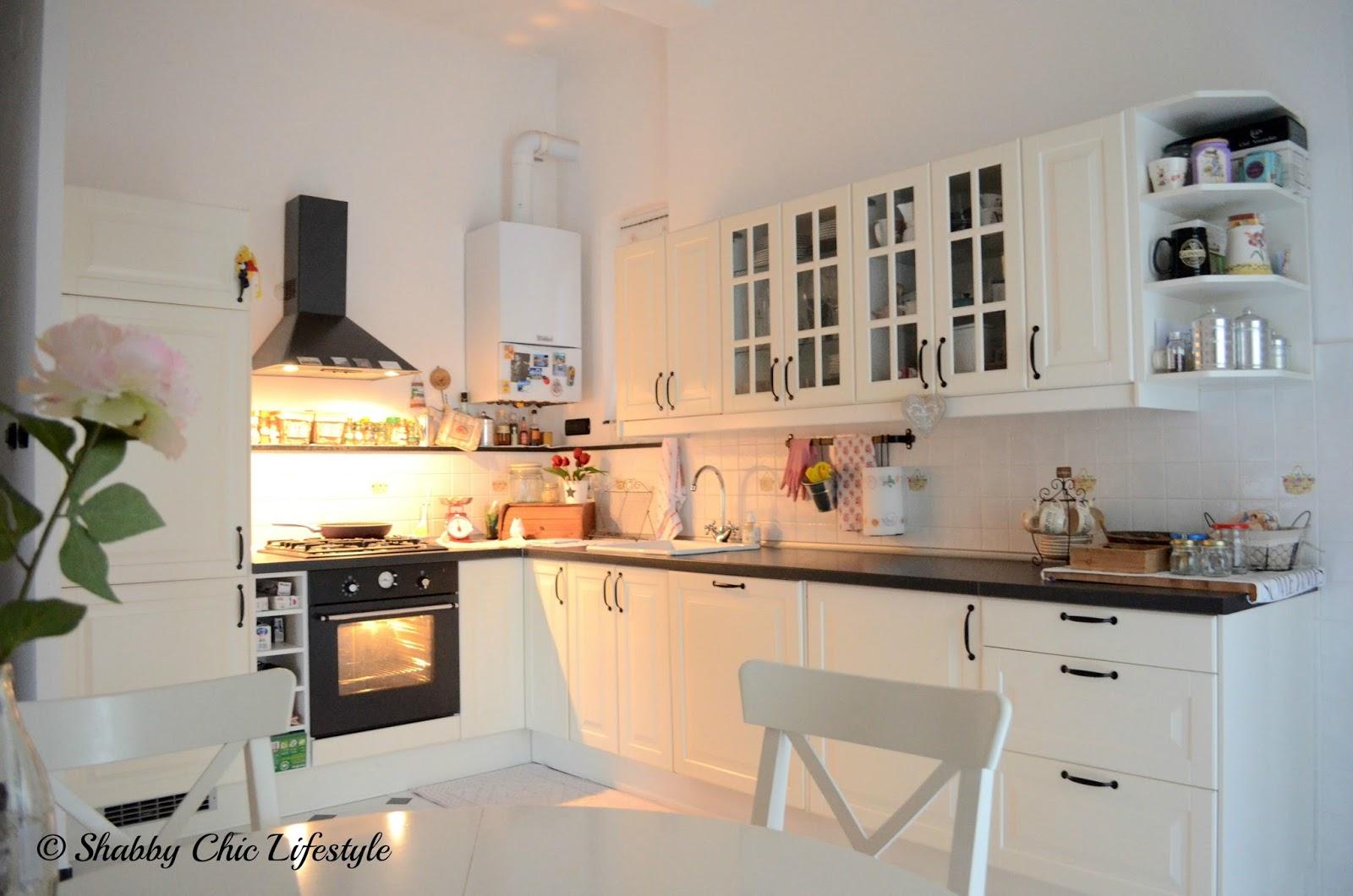La mia cucina shabby ricette casalinghe popolari - Cucina shabby ikea ...