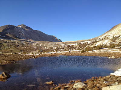 Taboose Pass to Bench Lake