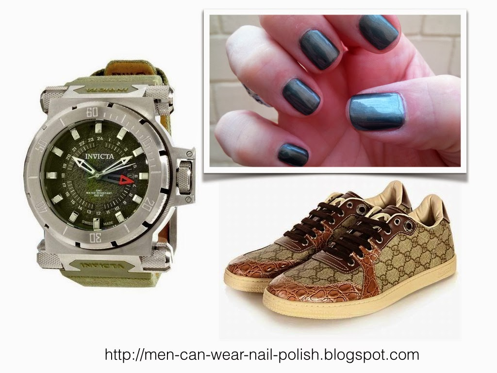 NAIL POLISH COLORS FOR MEN