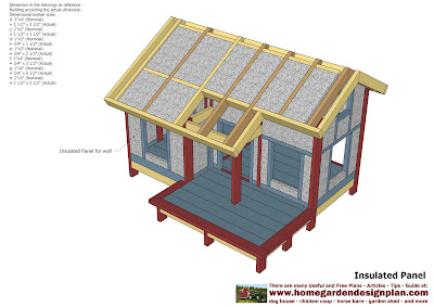 Home garden plans dh303 dog house plans dog house for Insulated dog house plans pdf