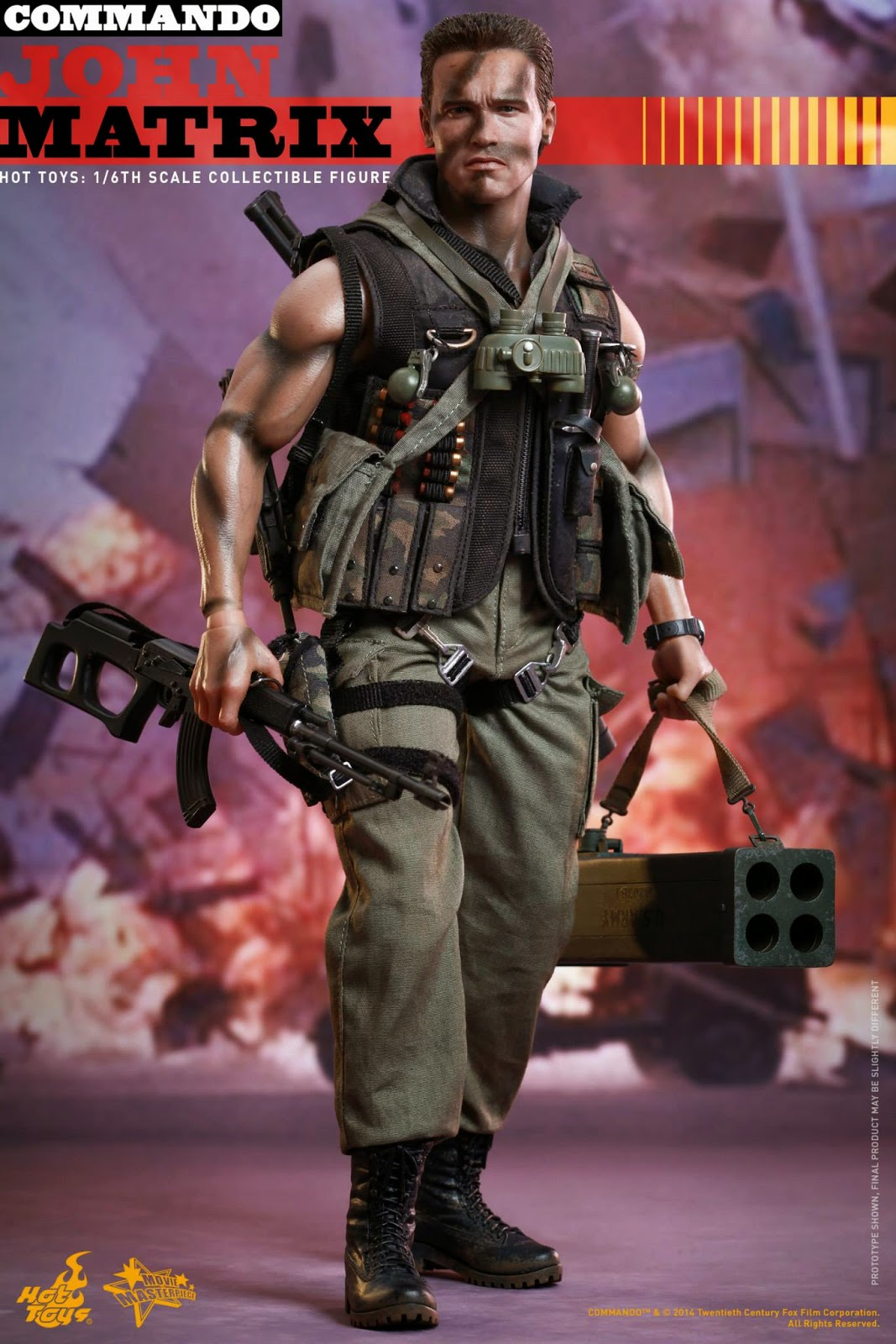 Set of 3-1//6 Scale Knives from Hot Toys MMS276 Commando John Matrix Figure