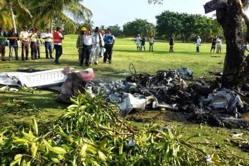 Tujuh Maut Pesawat Terhempas Di Padang Golf