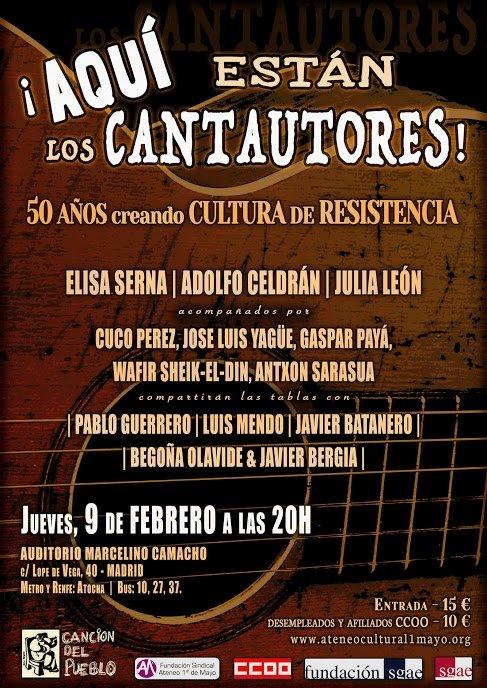 9 de febrero Canciones de Resistencia