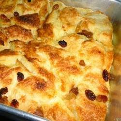 Resep Puding Roti Bakar