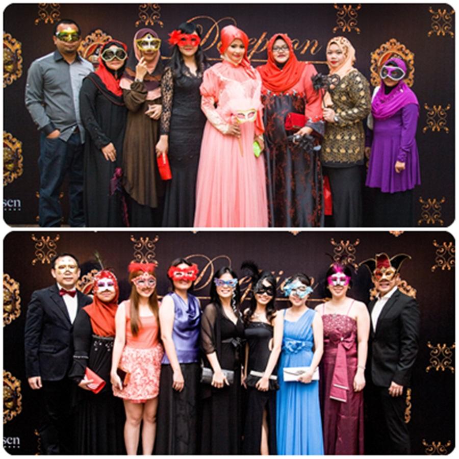 Hannah Sytieh Hotel Sheraton A Masquerade Affair Annual Dinner 2013