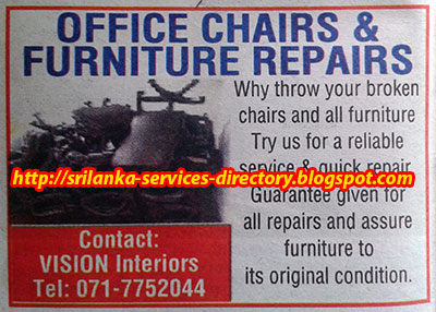 Office Chair And Furniture Repairs