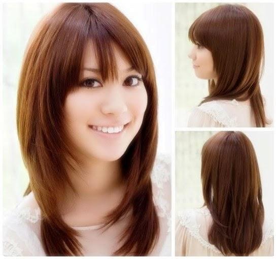 Model Gambar Gaya Rambut Cewek