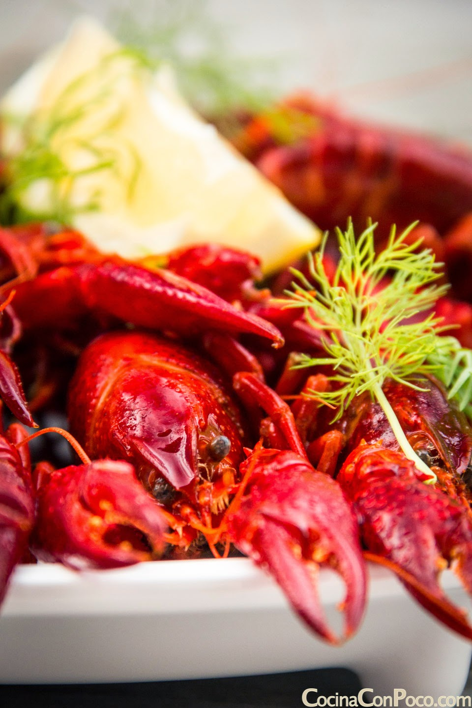 Cangrejos de rio - receta facil