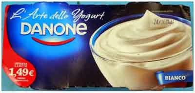 L'Arte dello Yogurt Danone