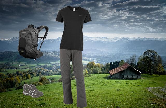 La equipación necesaria para hacer senderismo y trekking