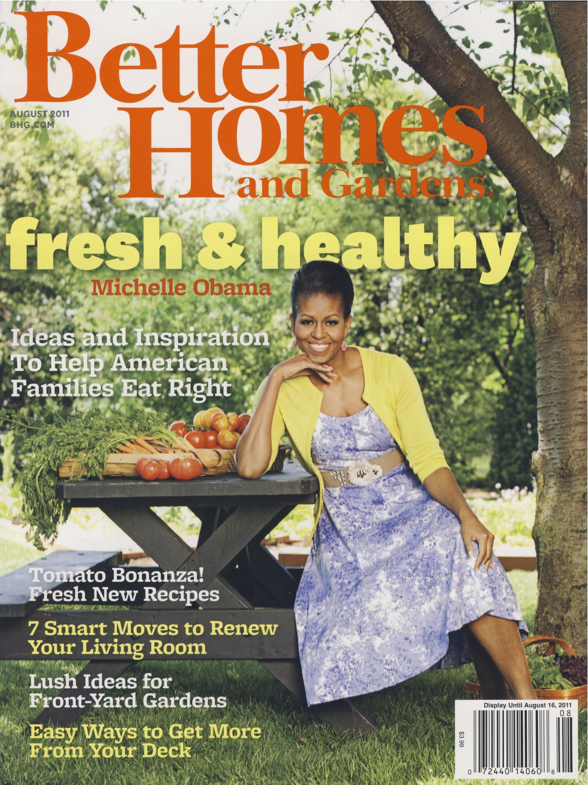 Featured in Better Homes & Gardens August 2011