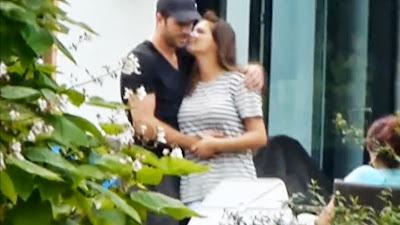 Sabia is zwanger. Sabia in verwachting van Rafaels baby