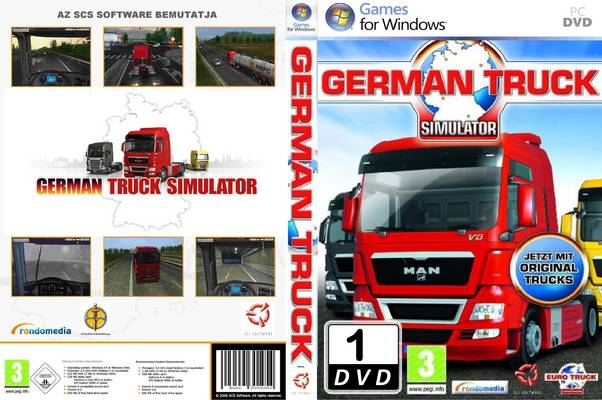 German Truck Simulator English language pack
