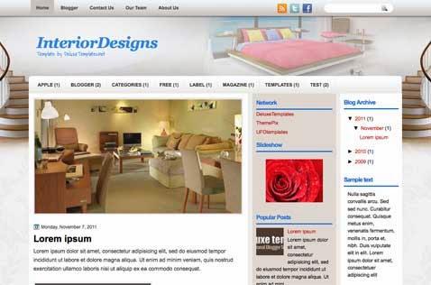 Template Interior Design and Furniture
