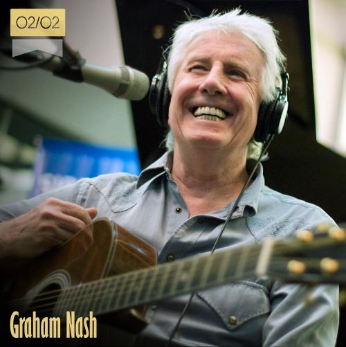 2 de febrero   Graham Nash - @TheGrahamNash   Info + vídeos