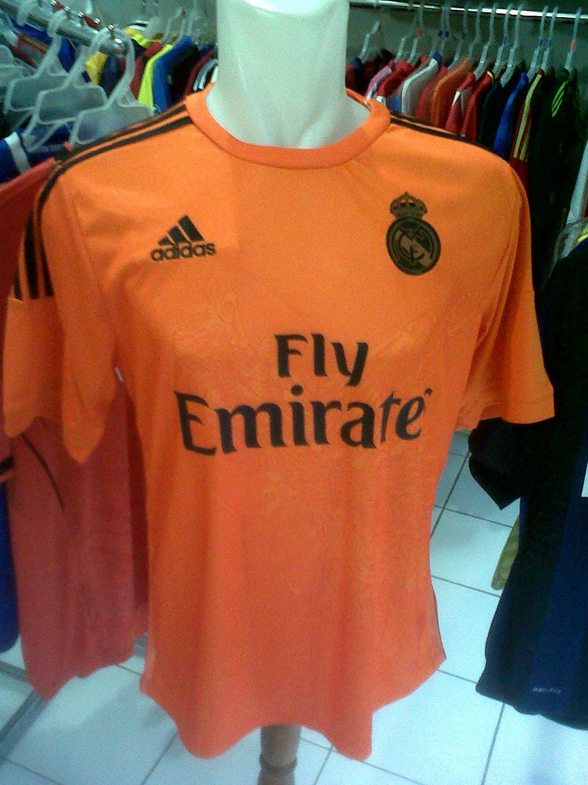 Jersey Kiper Real Madrid 3rd Naga 2014/2015