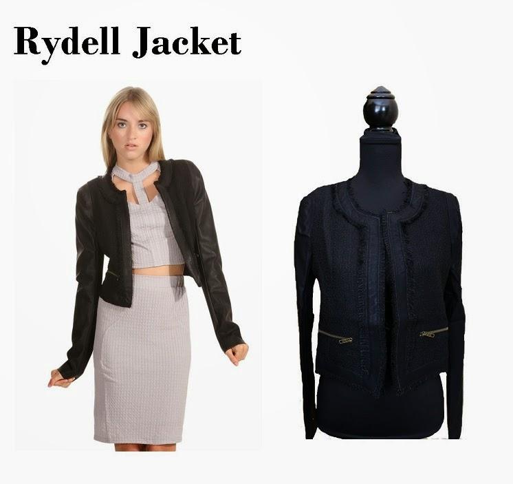 Black Rydell Jacket