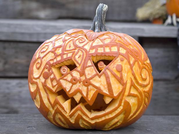 Chic Antique Blog Inspiring Pumpkin Carvings
