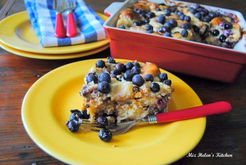 Blueberry Sausage Bake at Miz Helen's Country Cottage