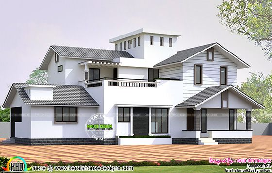January 2016 kerala home design and floor plans for Home designs bangalore