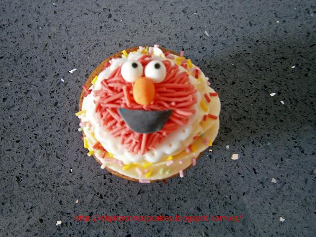 cupcakes Elmo