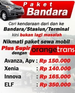 Paket harga rental mobil murah surabaya barat timur selatan 2014
