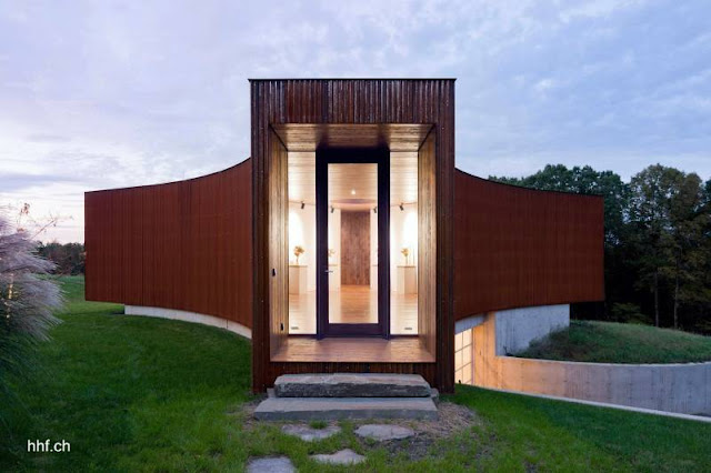 Casa de huéspedes de diseño moderno en Ancram, Nueva York, Estados Unidos