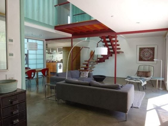 diseo interior de casa hecha de container