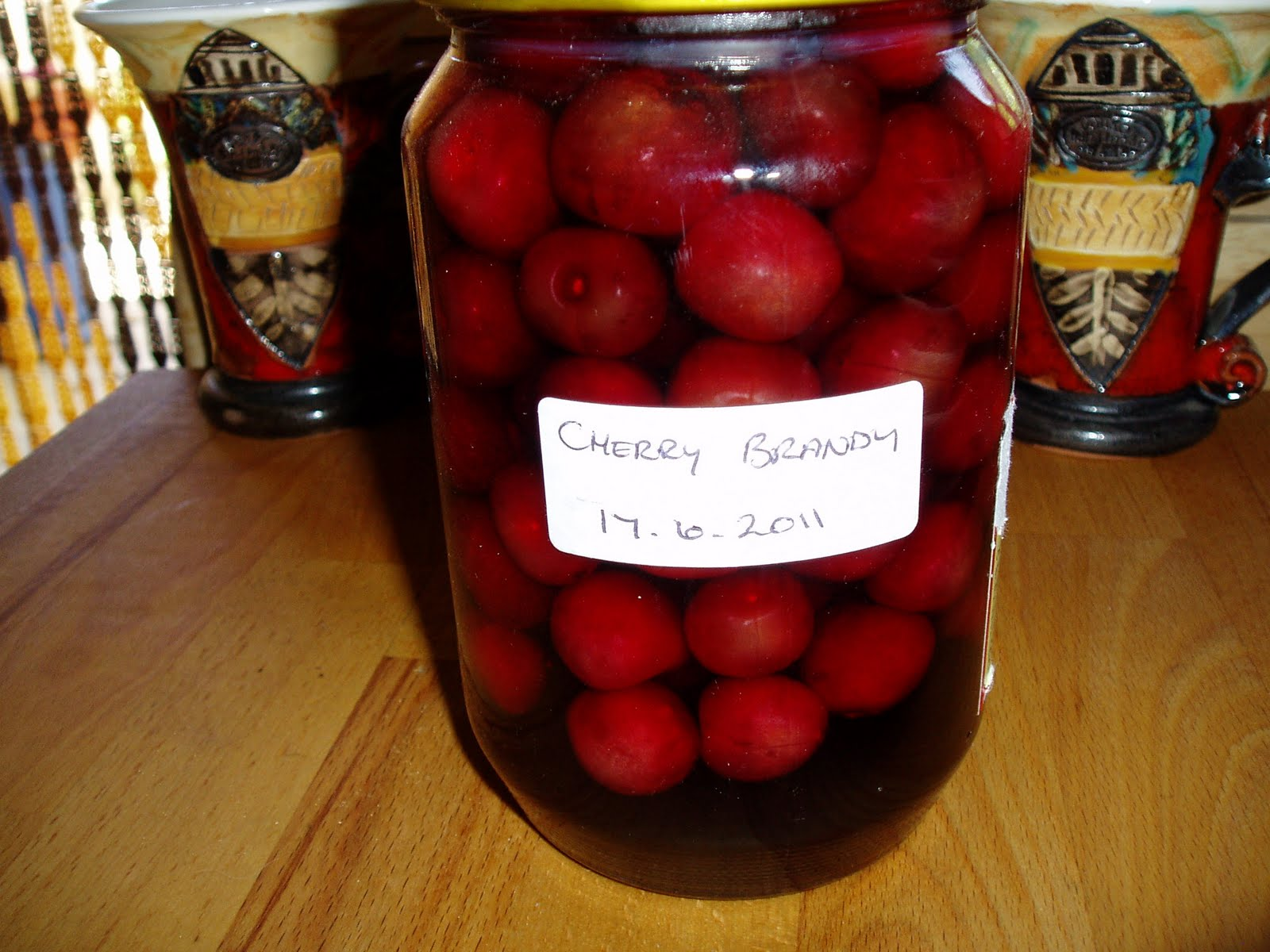 Bulgarian village recipes cherry brandy recipe friday 8 july 2011 forumfinder Choice Image