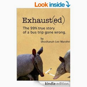 http://www.amazon.com/Exhaust-true-story-trip-wrong-ebook/dp/B00ITYJLTA/ref=sr_1_1?ie=UTF8&qid=1409789801&sr=8-1&keywords=shoshanah+marohn