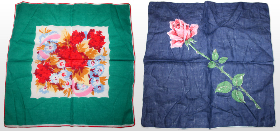 handkerchiefs 3 and 4
