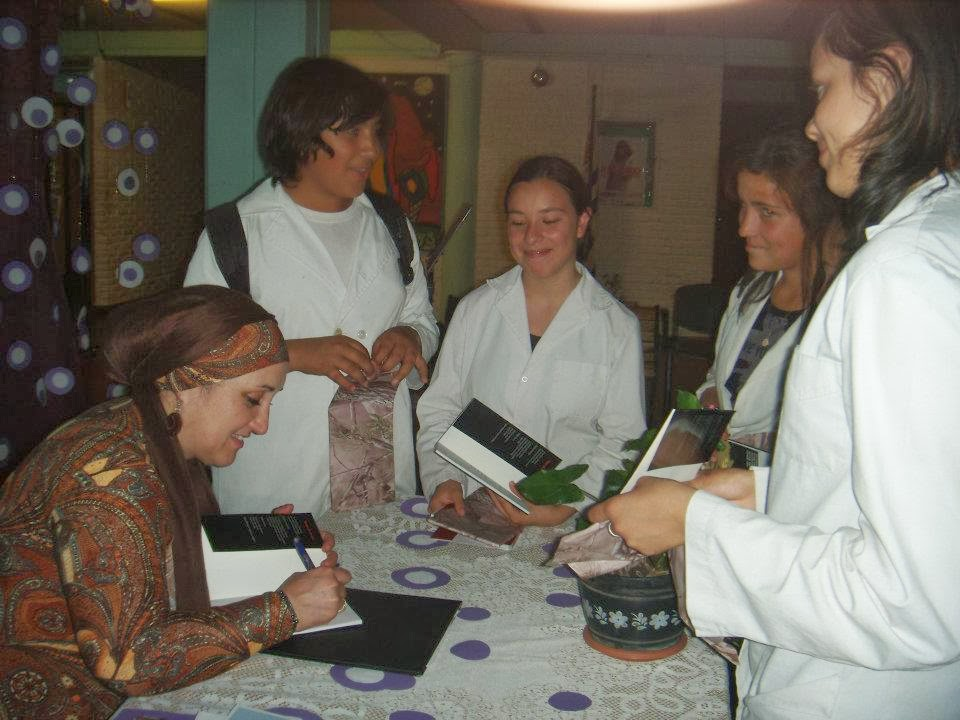 Visita al Liceo Nº 2 de Paysandú.