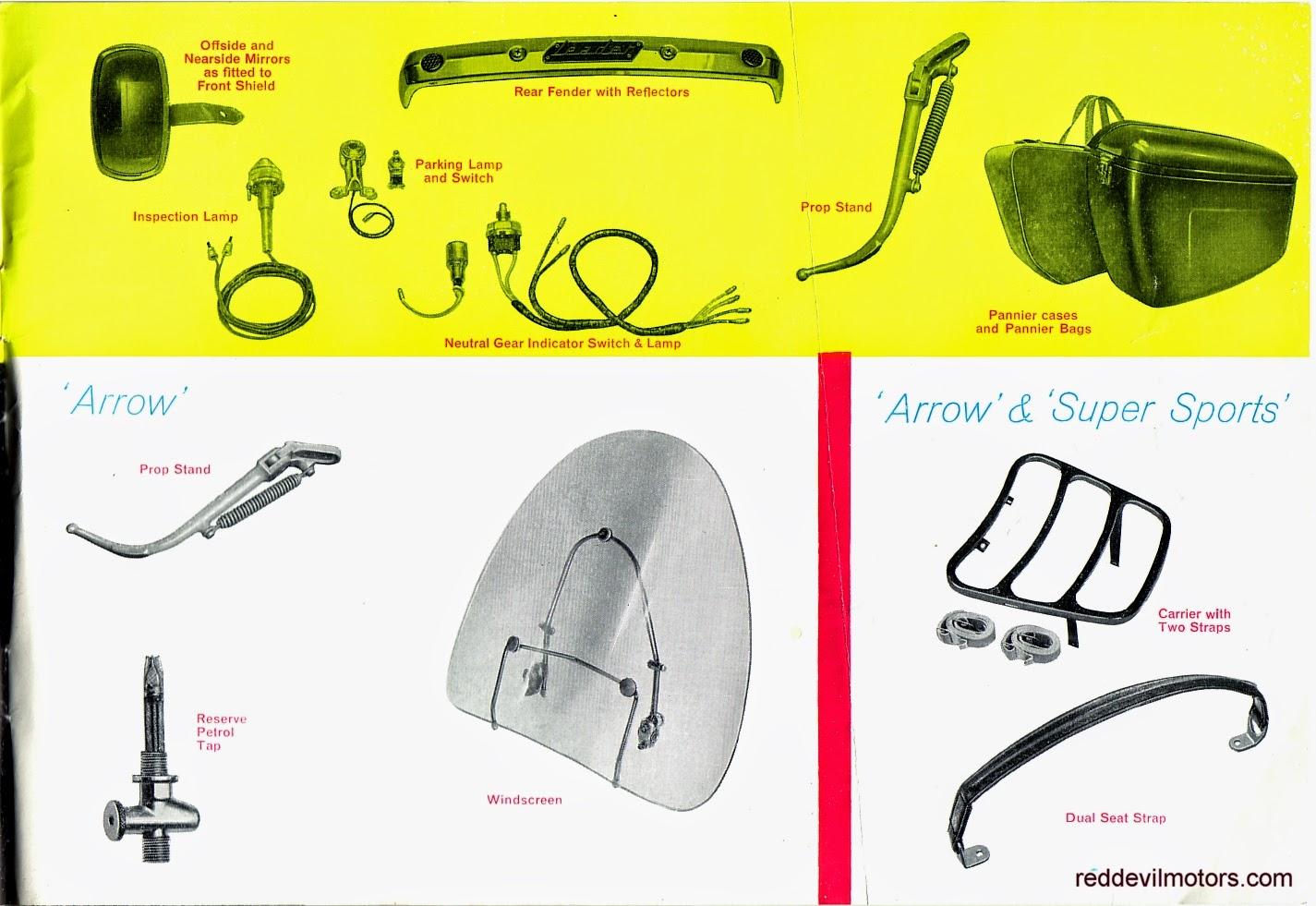 Ariel Arrow and Leader brochure page 10