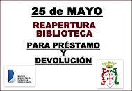 REAPERTURA BIBLIOTECA