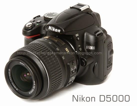 Harga Kamera DSLR Nikon D5000