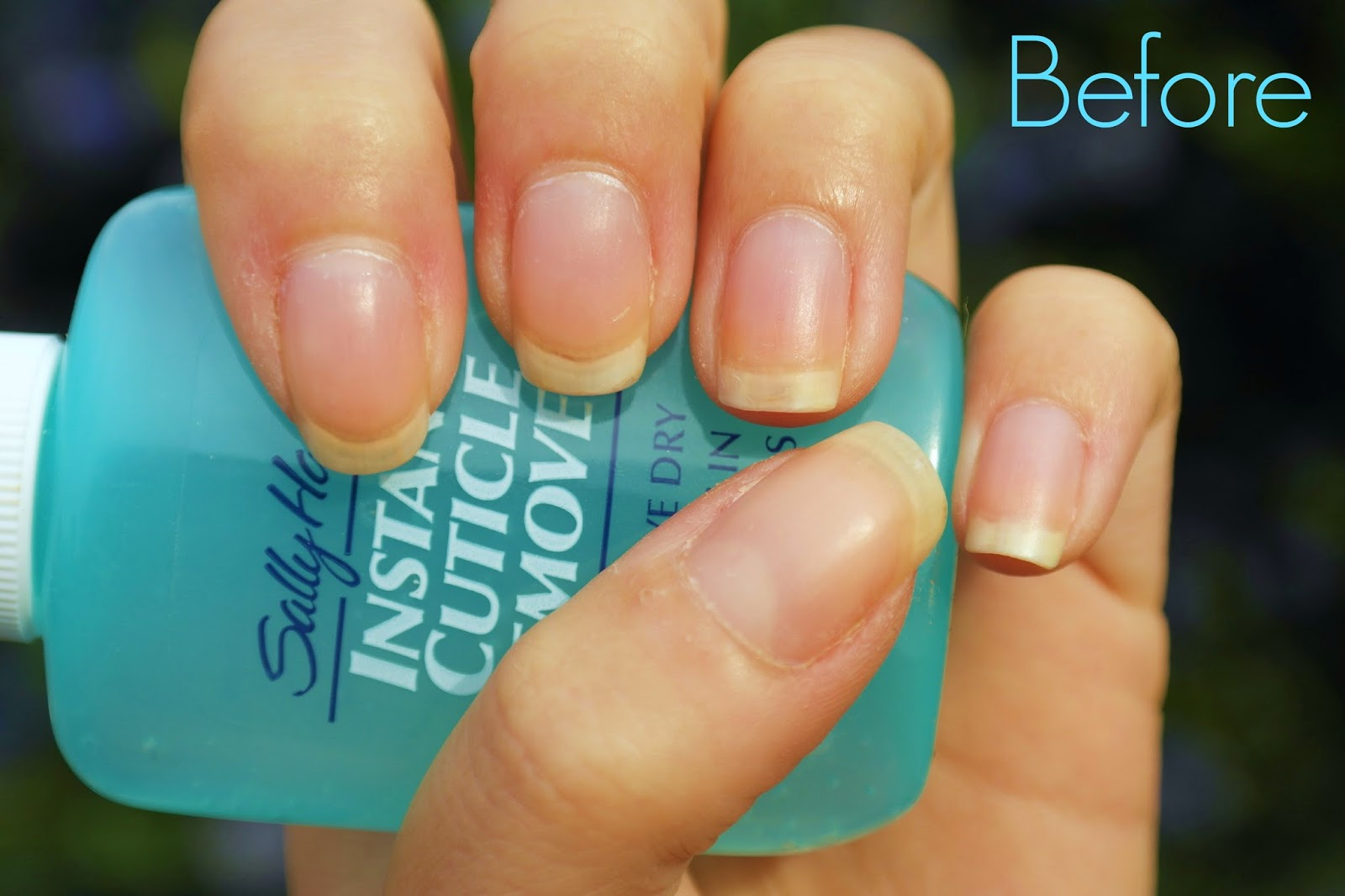 sally hansen cuticle remover before picture