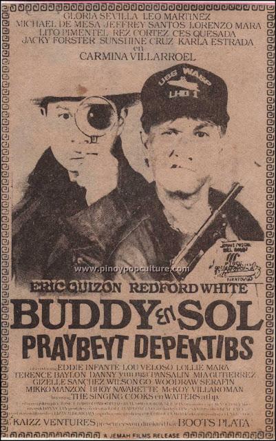 Buddy en Sol, Praybeyt Depektibs, movies, Eric Quizon, Redford White