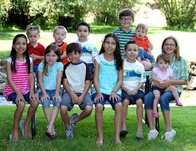 Grandma J's Twelve Grandchildren