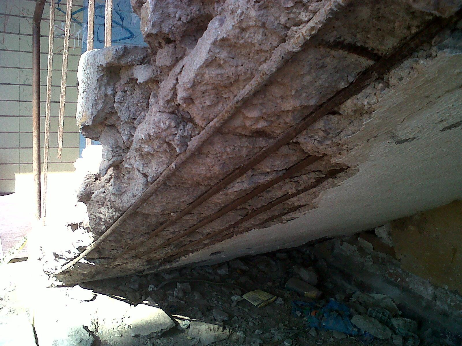 V ctor mar n mart nez deterioro del concreto armado - Suelos de hormigon para jardin ...