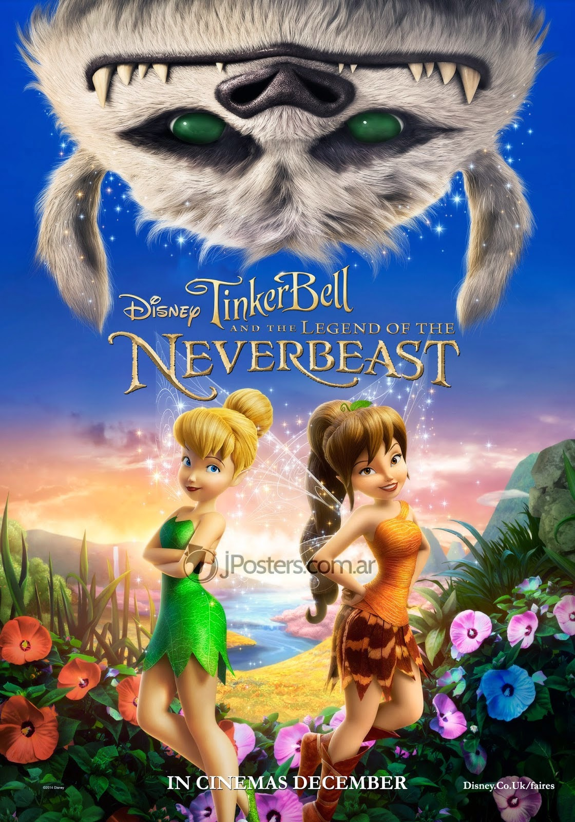 Tinker Bell and the Legend οf the Neverbeast (2014) Μεταγλωτισμενο tainies online oipeirates
