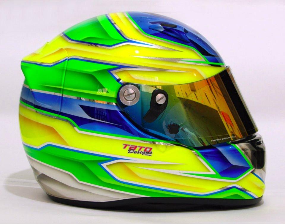 Racing Helmet Garage >> Racing Helmets Garage: Arai GP-6 M.Roque 2012 by Tato Designs